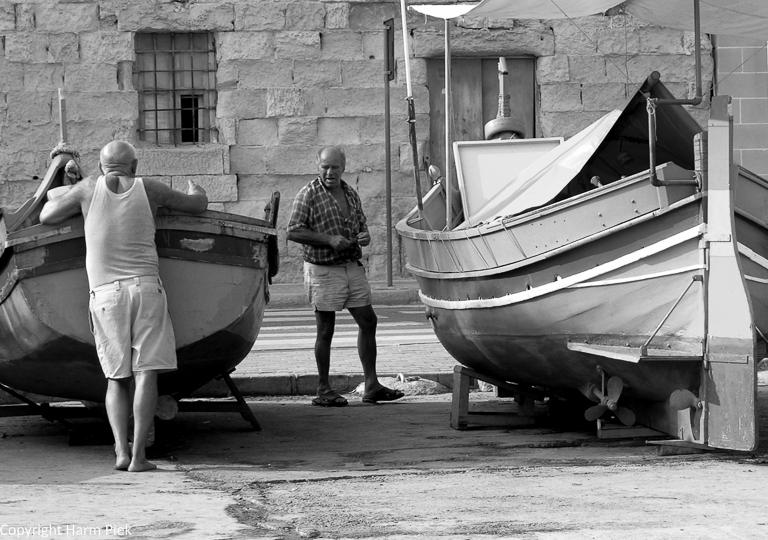 Marsaxlokk, Malta, 2004
