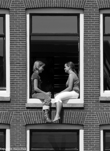Amsterdam, 2007, Conversation