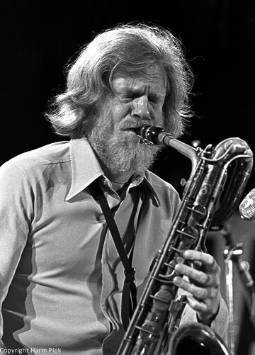 Gerry Mulligan, Newport Jazz Festival, 1972