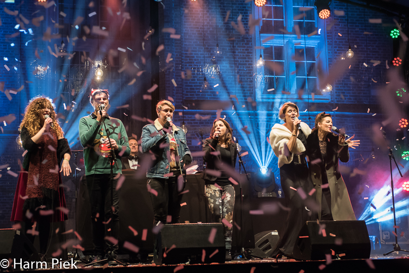 Christmas community singing, Haarlem Jazz and More, 2016, Winteredition